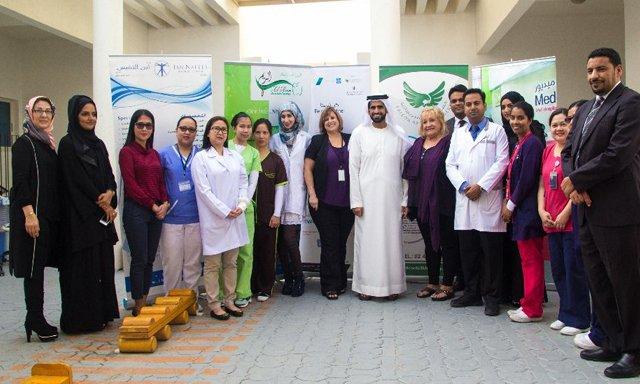 Falcon British Nursery visit by Sheikh